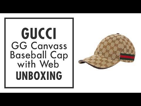 GUCCI BASEBALL CAP (UNBOXING & REVIEW)