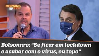 Adrilles Jorge afirma que discussão sobre lockdown é estéril e inócua