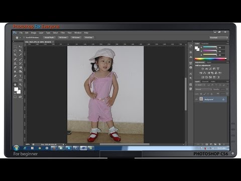 Photoshop CS6:Công cụ Move-Zoom và Hand - cơ bản bài 03