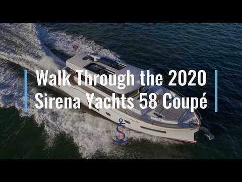 Walk Through 2020 Sirena Yachts 58 Coupe