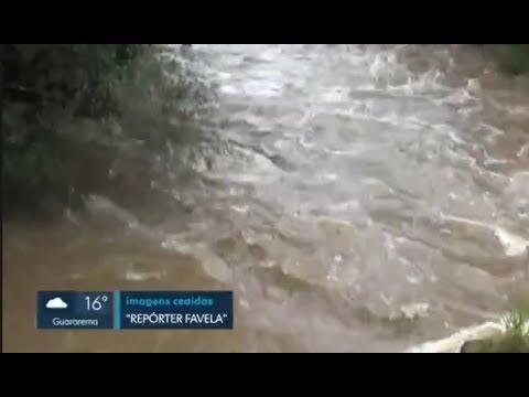 Juquiazinho na Rede Globo com imagens do Repórter Favela