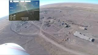 FPV Орск Talon UAV-X полет на 63 км. Екатеринославка, Кенжибулак, Красный Чабан, Тюльпанный и степи