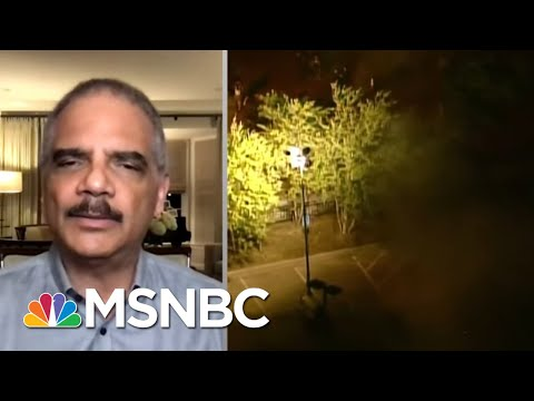Holder On George Floyd's Fatal Arrest: It's 'Taking Me Back' To Ferguson | The Last Word | MSNBC