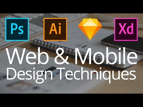 Modern Web & Mobile Design Techniques (Live Streamed)
