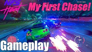Need For Speed Heat: FIRST RACE, COP CHASE, & FREEROAM Gameplay + How The Physics ACTUALLY FEEL!!