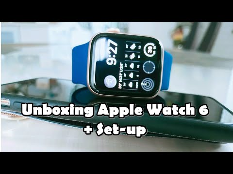 UNBOXING APPLE WATCH SERIES 6 | SET-UP