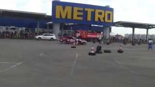 preview picture of video 'Караганда - МЕТРО - дрифт соревнования'
