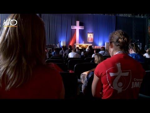 L'adoration, temps de silence aux JMJ