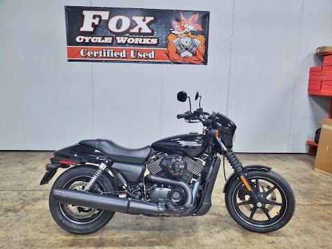 2017 Harley-Davidson Street® 750 in Sandusky, Ohio - Video 1