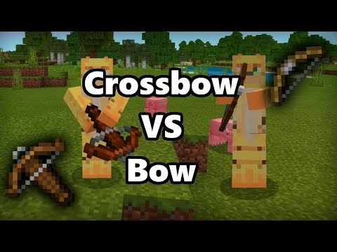 Minecraft - ALL Crossbow Enchantments EXPLAINED! (Minecraft 1 14