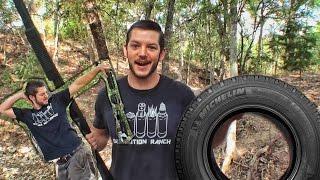 Прострелит ли дробовик колесо? | Разрушительное ранчо | Перевод Zёбры