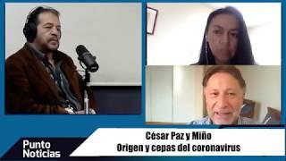 Covid 19. Origen y cepas. Entrevista en Pichincha Universal