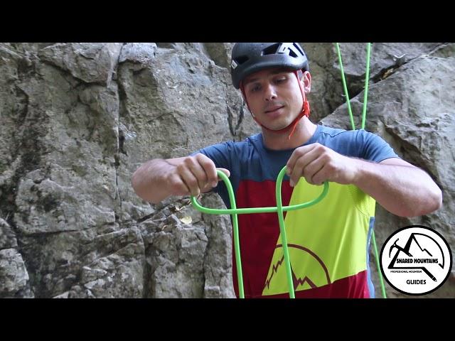 Стреме със среда на въже