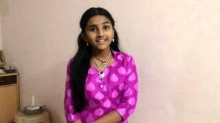 National Anthem Singing by Jayalakshmi(junior lata