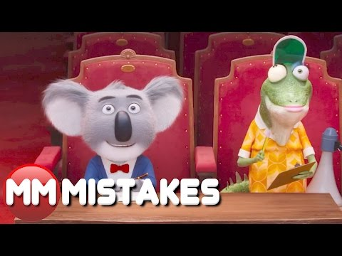 10 Sing MISTAKES Goofs You Missed | LOVE Sing MISTAKES 2016 | LOVE MOVIE MISTAKES