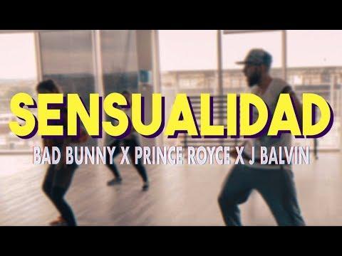 Sensualidad - Bad Bunny X Prince Royce X J Balvin | Zumba Fitness (Coreografía) mp3