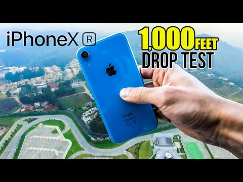 IPhone Xr DROP TEST - From 1000ft High! | In 4K Mp3