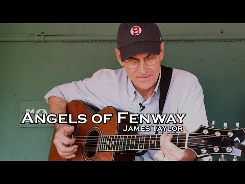 "James Taylor performs ""Angels of Fenway"" from Red Sox Dugout"