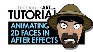 After Effects Tutorial | Animating 2D Cartoon Faces