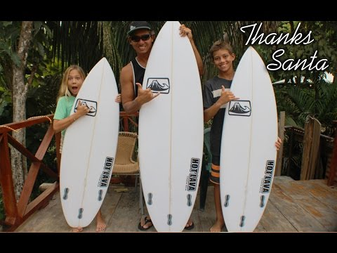 New Replica Surfboards From Santa – 2015 Christmas Haul