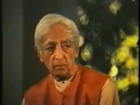 Кришнамурти Видящий, который идет в одиночестве