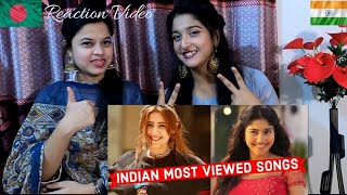 Reaction video Top 50 Most Viewed Indian Songs on Youtube of All Time Jamai Bow Reaction
