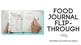 NEW Food Journal Flip-Through