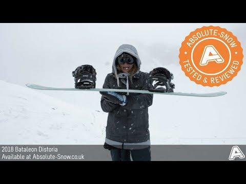 2017 / 2018 | Bataleon Distoria Snowboard | Video Review