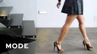 How to Walk in Heels | Step By Step ★ Glam.com