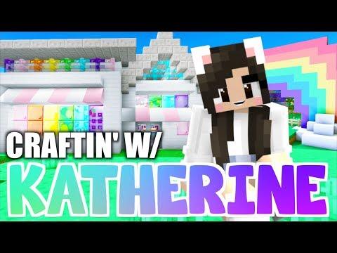 Minecraft PARTY STORE! Craftin' w/ Katherine Ep  34