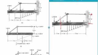 Tensão - Exemplos: 1.1, 1.2, 1.3, 1.4 e 1.5 - (Hibbeler 7 Edição)