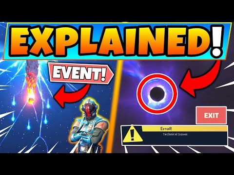 Fortnite EVENT EXPLAINED! - ALL CHANGES, Blank Screen, & Rocket (Season 11/Chapter 2)