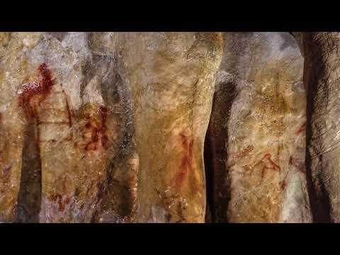 Найдены самые древние наскальные рисунки неандертальцев