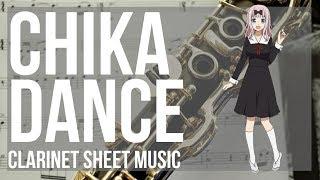 Kei Shirogane  - (Kaguya sama: Love Is War) - EASY Clarinet Sheet Music: How to play Chika Dance (Kaguya sama) by Kei Haneoka