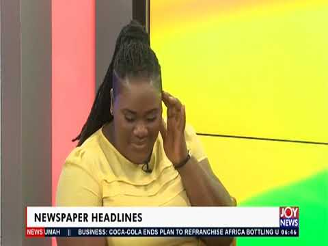 Limited Voter Registration Begins June 7 - AM Show Newspaper Headlines on JoyNews (21-5-19)