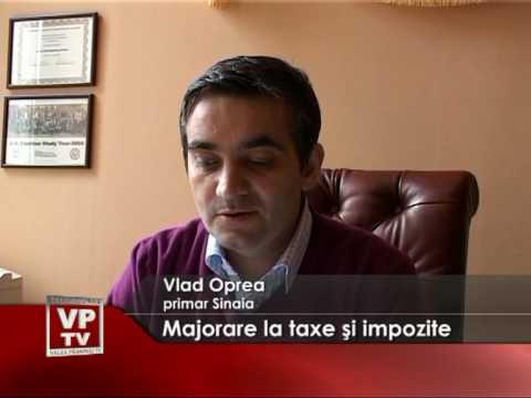 Majorare la taxe şi impozite
