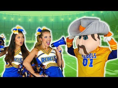 Cheerleaders vs Mascots Song Pop Music High Music Video. Totally TV