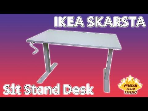 IKEA SKARSTA Sit-Stand Desk Review