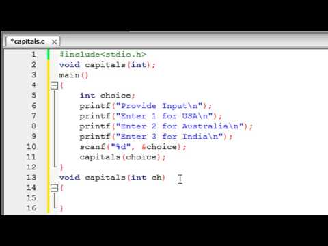 C Programming Tutorial – 44: Functions (Part-2) Parameter Lists, Actual & Formal Parameters