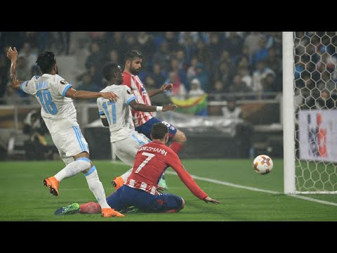 Atletico Madrid defeat Olympique Marseille 3-0 to win Europa League