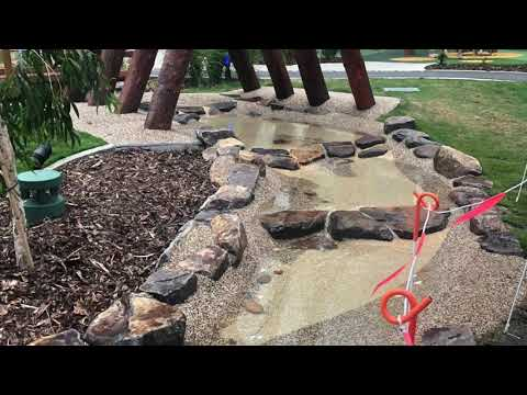 Coomera Waterpark - StoneSet Permeable Pavers