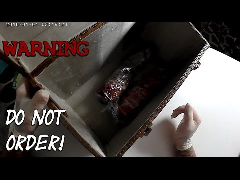 Buying A Real Dark Web Mystery Box Goes Horribly Wrong!!! Very Scary!
