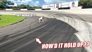 How'd the Freedom Factory Hold Up to PRO DRIFT CARS Abusing It?? DAMAGE REPORT!!!