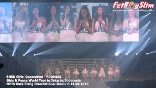 SNSD GIRLS' GENERATION - PROMISE live in Jakarta, Indonesia 2013