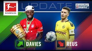 Marktwerte Bundesliga: Davies nähert sich Haaland – Tiefstwert für Reus beim BVB | TRANSFERMARKT