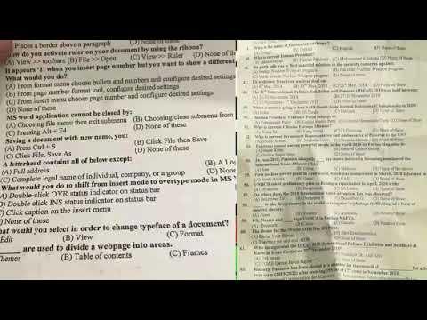 FIA FPSC Inspector investigation today sloved paper of Batch