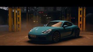 [오피셜] Race drones vs. Porsche 718 Cayman