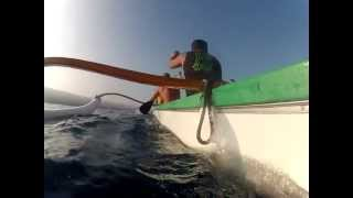 preview picture of video 'Keauhou Canoe Club early morning paddle'