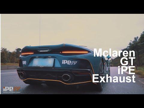 iPE exhaust McLaren GT
