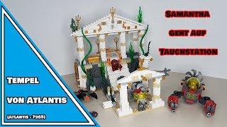 SAMANTHA GEHT AUF TAUCHSTATION! | LEGO® Tempel von Atlantis Review | 7985 (deutsch)